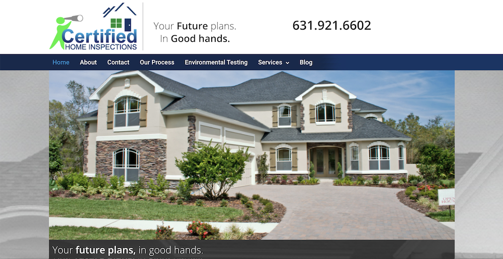 Certified Home Inspections Launches New Website